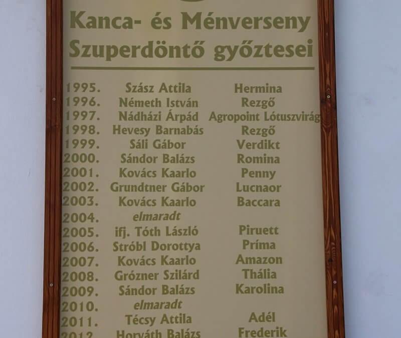 XXV. Jubileumi Kanca- és Ménverseny