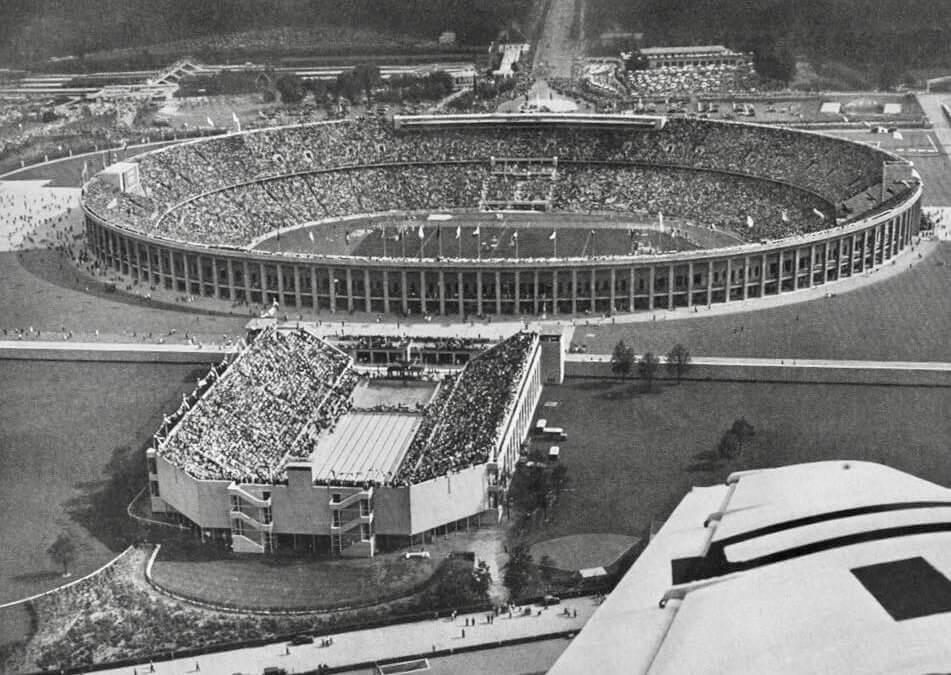 Jankovich Lőrinc és Irány, 1936. Berlin, Olimpia military verseny díjlovaglás