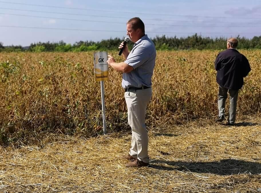 Kukorica szója szántóföldi bemutató