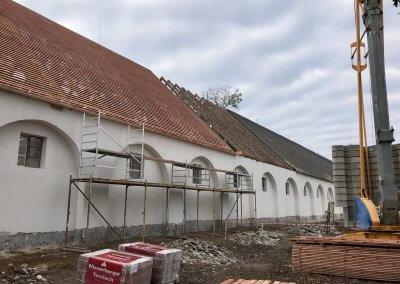 A külső homlokzat felújítása
