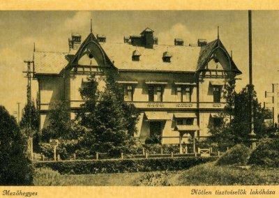 Az Országzászló képeslapon
